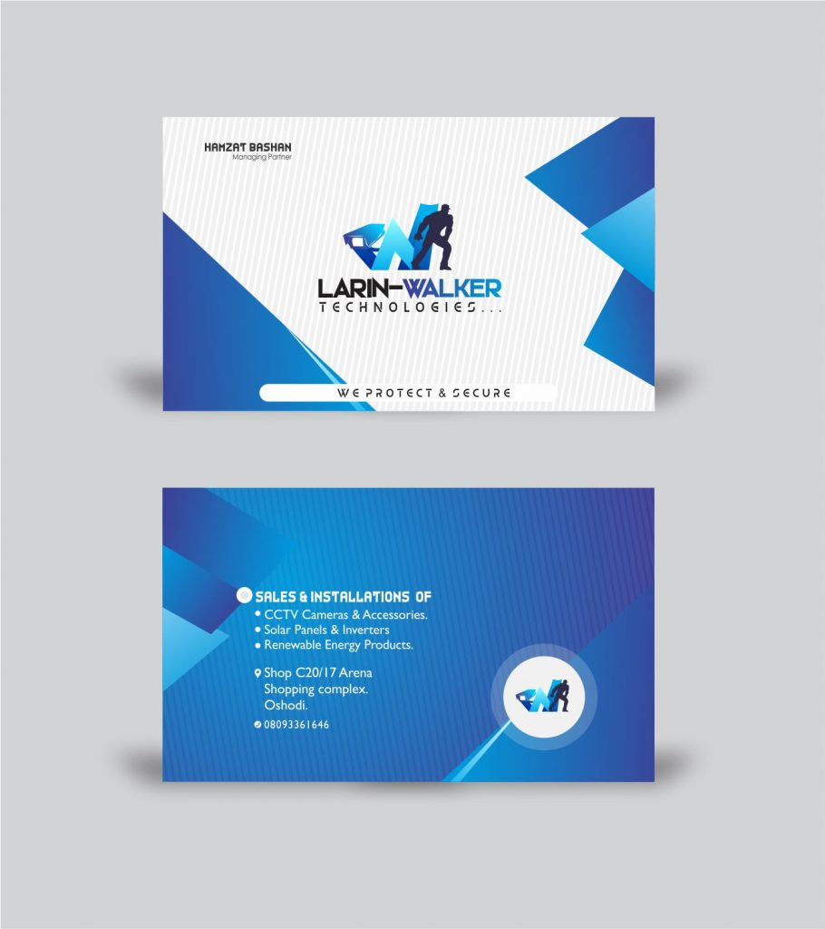 Business Card Back/Front