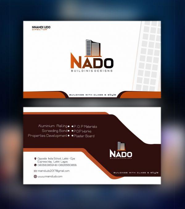 Business Card 3D Star
